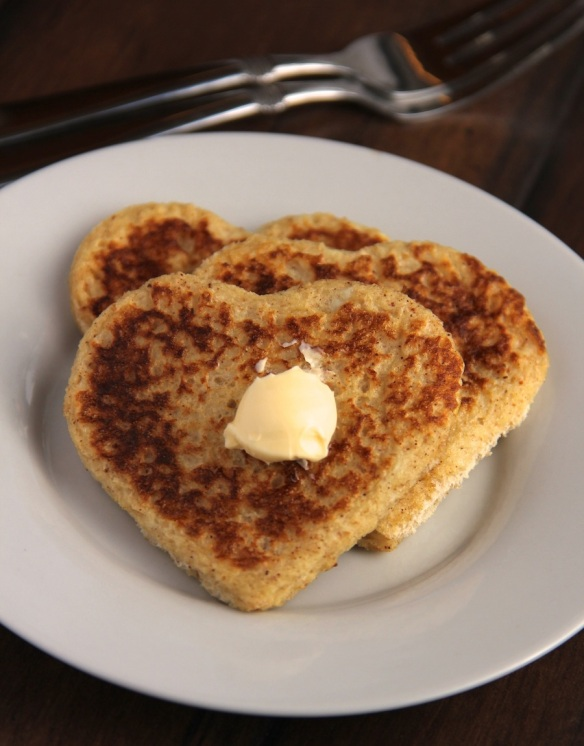 heart shaped french toast - photo 2