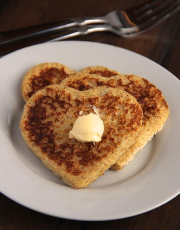 heart shaped french toast - photo 2