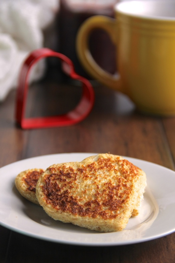heart shaped french toast - photo 3